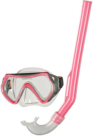 BECO PULA Kinder-Schnorchelset pink 52990324