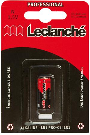 Leclanché Batterie N/LR1 Blister 1Stk. 602004BC