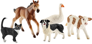 Schleich Farm World Tier-Mix, 5 assortiert 1373A1