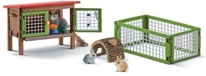 Schleich Spielset Kaninchenstall, 25x10x16cm 2061A2