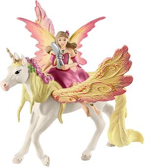 Schleich Feya mit Pegasus-Einhorn 2037A2