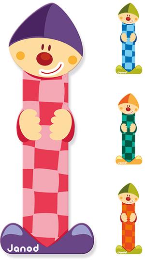 Janod Clown Buchstabe I ass. 4504550