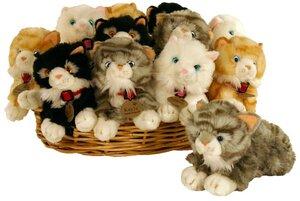 RUSS Katze liegend 25cm 4-fach (eines wird geliefert) ass. 2101475A