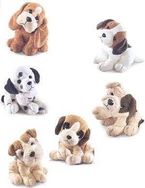RUSS Chamois Hunde 18cm; 6-fach (eines wird geliefert) ass. 21023260