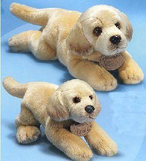 Labrador Hund Yomiko liegend 28cm 21025361