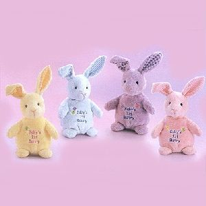 RUSS Baby's first Bunny 21cm 4-fach (eines wird geliefert) ass. 21027662