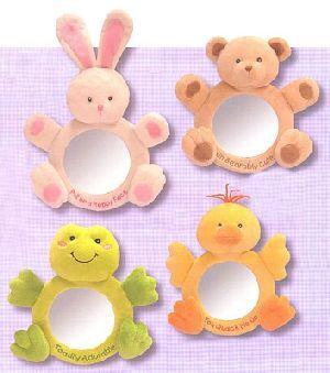 RUSS Spiegel Baby 30cm ass. (Hase, Bär, Frosch, Küken) 21034612