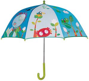 Regenschirm Lilliputiens mit Fenster