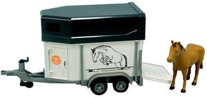 Bruder Pferdeanhänger incl. 1 Pferd 31002028