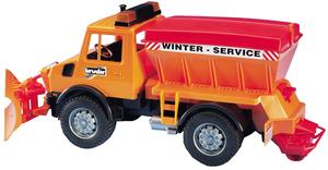 Bruder MB-Unimog Winterdienst