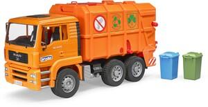 Bruder MAN TGA Müll-LKW orange 31002760