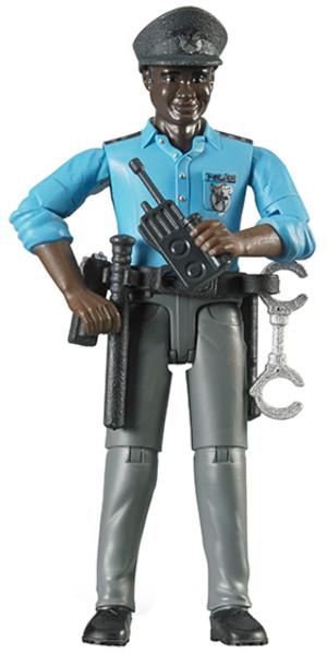 Bruder Polizist mit dunklem Hauttyp 31060051