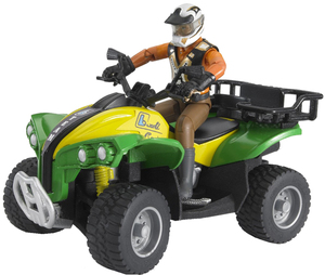Bruder Quad mit Fahrer bWorld 31063000