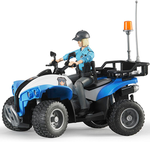 Bruder Polizei-Quad mit Polizistin 31063010