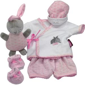 Götz Puppenmanufaktur Götz Spielanzug Hase 6 teilig 33001730
