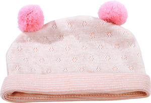 Götz Puppenmanufaktur Götz Mütze rosa mit Pompom 33002415