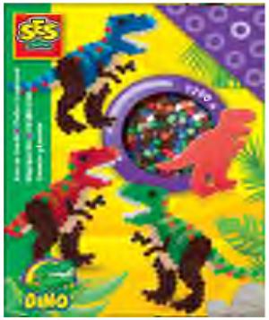 SES Creative SES Bügelperlen Dinosaurier 34006117