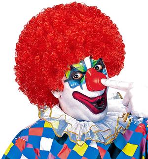Clownperücke rot 71560042