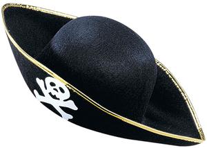 Piratenhut mit Totenkopf 7162484