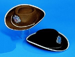 Sheriffhut Kinder schwarz 71628010114