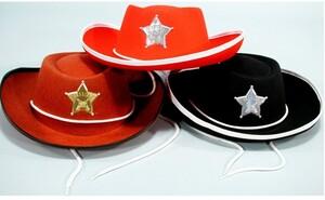 Cowboyhut Sortiment 3-fach (eines wird geliefert) ass 71638290