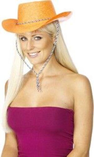 Cowgirl Hut glitter orange 71624180