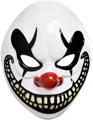 Clown Maske Freakshow 72084580455