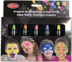 Diverse 5 Schminkstifte Neon 72502005160
