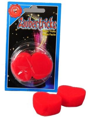 Diverse 2 Schaumstoff-Herzen Zaubertrick 72714350