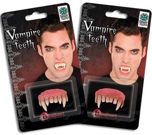 Diverse Gebisse Vampir 2-fach (eines wird geliefert) ass. 7276512