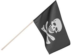 Fahne Pirat schwarz 72774163