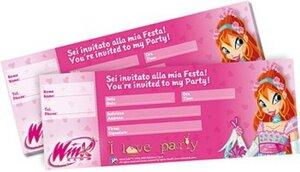 20 Einladungskarten Winx 728114086
