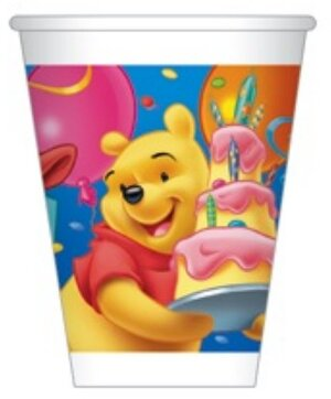 10 Becher 200ml Winnie Pooh 7283747