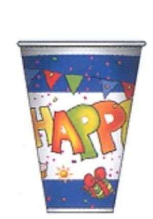 10 Becher Happy Birthday 200ml 7283887