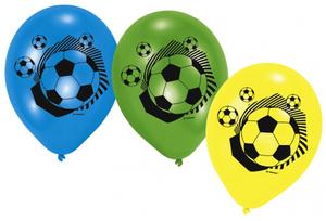 Amscan 6 Ballone Fussball 728414100