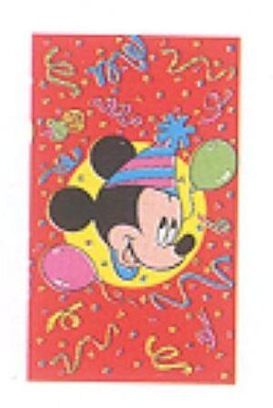 6 Einladungs-Sets Mickey 7285560