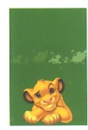Papier-Tischdecke Lion King, 120x180cm 7287770