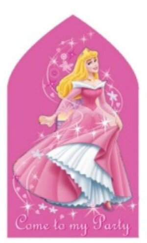 6 Einladungset Disney Princess 7288163