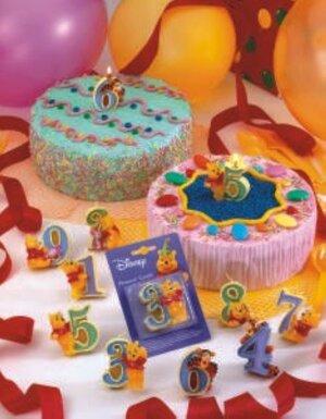 3D Zahlenkerze W. Pooh Nr. 6 7288222