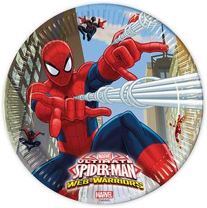 Diverse 8 Teller Spiderman 23cm 72885151