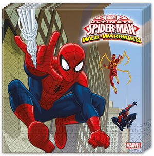 20 Servietten Spiderman 72885154