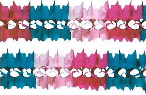 Girlande regenbogenfarbig 4m 73110036