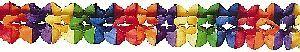 Girlande, regenbogenfarbig, 6m 73110041