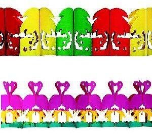 Girlande Karibik, 4m Länge, 2-fach (eines wird geliefert) ass. 73111108