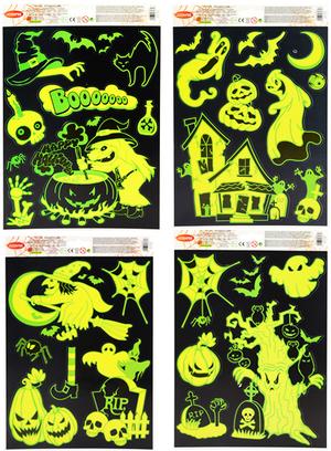 Halloween Fensterbilder Glow 7328404045