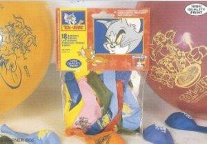18 Ballone Tom/Jerry, Farben ass., Ø28cm 763213A1