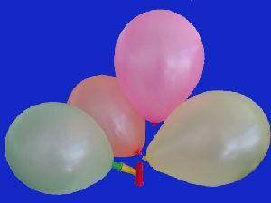 40 Ballone neon 88cm, Farben ass., 2 Ventile 76321536