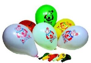 10 Ballone Clown, U: 88cm, Farben ass., 1 Ventil 76321556