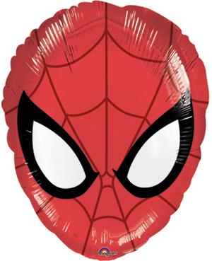Amscan Folienb. Spiderman Maske 45cm 76326330