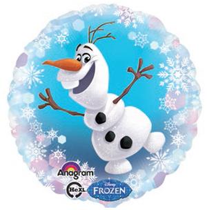 Amscan Folienballon Frozen Olaf rund 76330648